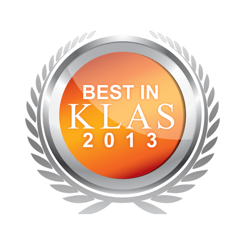Best in KLAS 2013