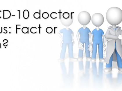 The ICD-10 doctor exodus: Fact or fiction?