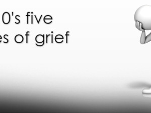 ICD-10's five stages of grief