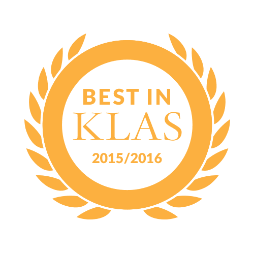 Best in KLAS 2015/2016