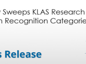 Dolbey Sweeps KLAS Research Speech Recognition Categories