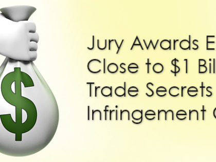 Jury Awards Epic Close to $1B in Trade Secrets Infringement Case