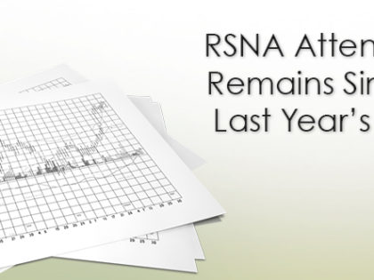 RSNA Attendance Remains Similar to Last Year's Levels