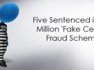 Five Sentenced in $19 Million 'Fake Cerner' Fraud Scheme