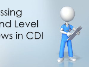 Discussing Second Level Reviews in CDI