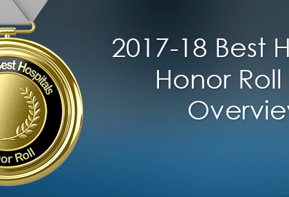 2017-18 Best Hospitals Honor Roll and Overview