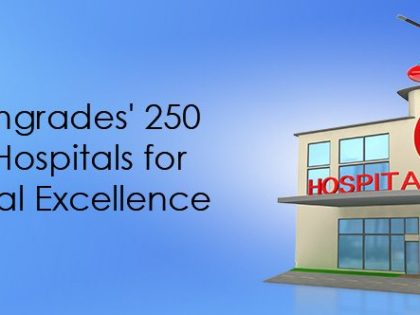 Healthgrades' 250 top hospitals for clinical excellence