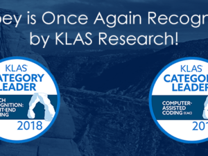 Dolbey is Once Again Recognized by KLAS Research for Speech Recognition and Computer-Assisted Coding
