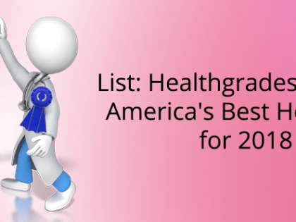 List: Healthgrades reveals America's Best Hospitals for 2018