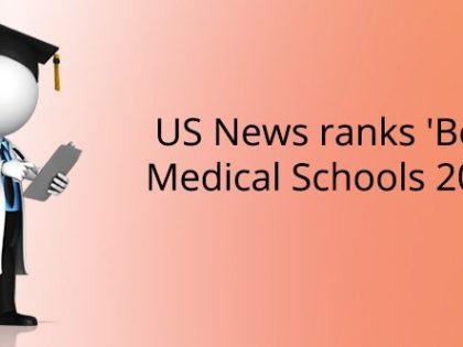 US News ranks 'Best Medical Schools 2019'