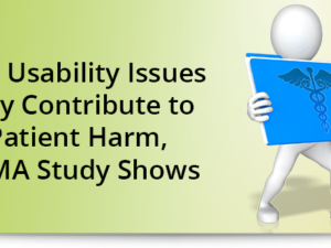 EHR usability issues may contribute to patient harm, JAMA study shows