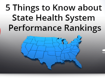5 things to know about state health system performance rankings