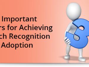 3 Important Factors for Achieving Speech Recognition Adoption