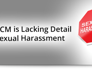 ICD-10-CM is Lacking Detail for Sexual Harassment