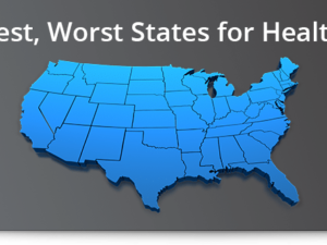 10 best, worst states for healthcare