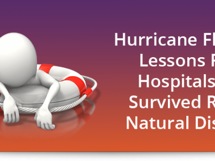 Hurricane Florence: Lessons from hospitals that survived recent natural disasters