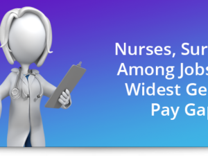 Nurses, surgeons among jobs with widest gender pay gaps
