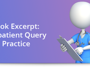 Book excerpt: Outpatient query practice